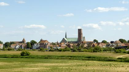 Ribe - The view from west