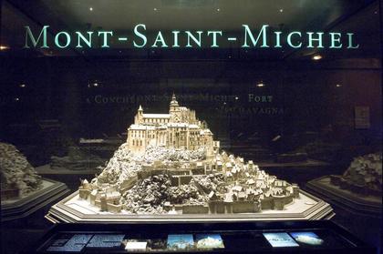 Le plan-relief du Mont-Saint-MIchel (construit vers 1690)