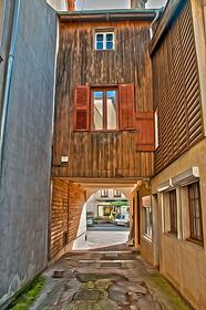 Maisons typiques du vieuq quartiers de la Noue
