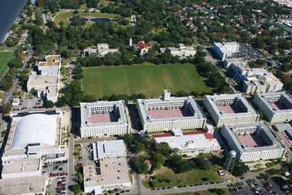 The Citadel campus in Charleston, South Carolina