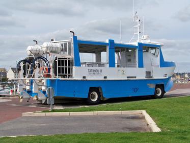 Le véhicule amphibie qui vous mène à Tatihou