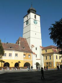 Piaţa Mare, Turnul Sfatului (la Tour du Conseil)