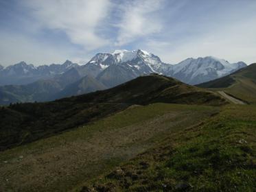Sur les pentes du Mont Joly
