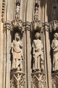 Façade baroque de la cathédrale, Valence