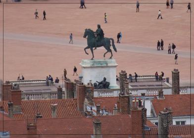 Statue Louis XIV Place Bellecour