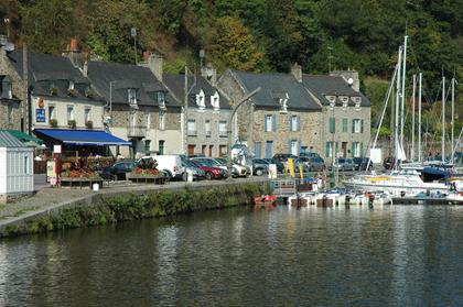 Dinan : les bords de la Rance