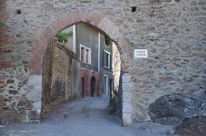 Conflans : porte Tarine