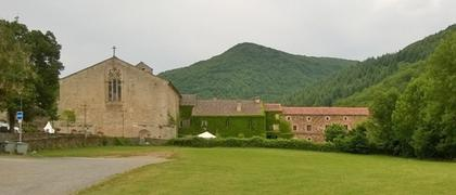 Arrière de l'abbaye