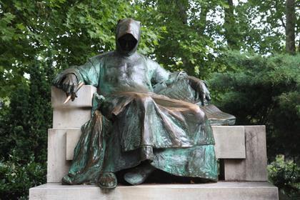 La statue d'Anonymous
