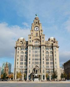 The Liver building,Liverpool water front.