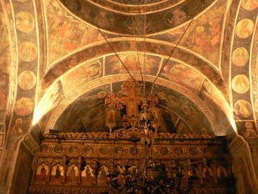 Intérieur de l'église Stavropoleos