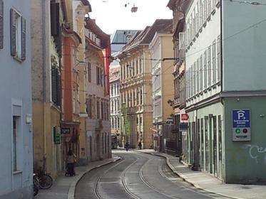 Sackstrasse Graz nördlich