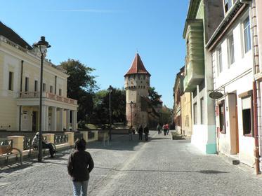 Sibiu : les Remparts et la Strada Cetăţii