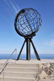 71° 10′  , le Cap Nord touristique.