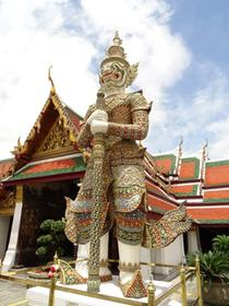 Wat Phra Kaeo of Bangkok