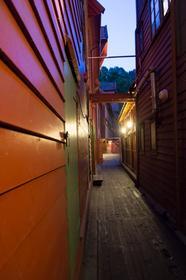 Passage entre les maisons