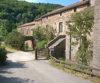 Entrée pour les visites de l'Abbaye de Sylvanès