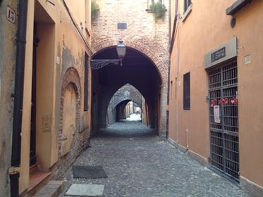via delle volte,Ferrara