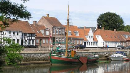 Ribe - the old harbour