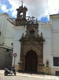 Las Angustias church