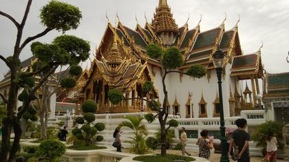 The Grand Palace of Bangkok
