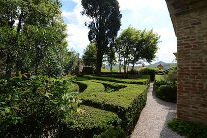 The garden of Petrarch's House