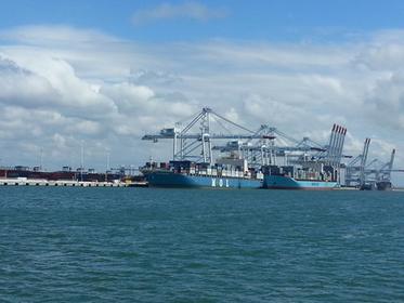 visite en bateau du port