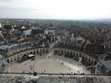 Place de la Libération vue de la Tour