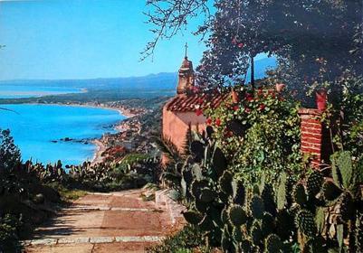 Scorciatoia per salire a Taormina da Giardini Naxos - Foto storica