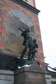 Altdorf, monument de Tell