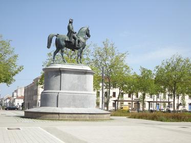 La statue de Napoléon