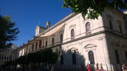 Fachada principal del ayuntamiento Sevilla