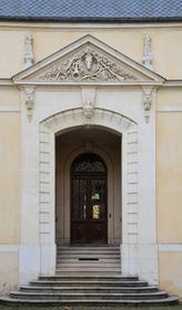 Hôtel des Loups : porte d'entrée