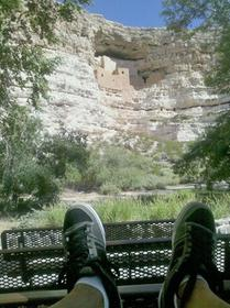 Enjoying the  view..