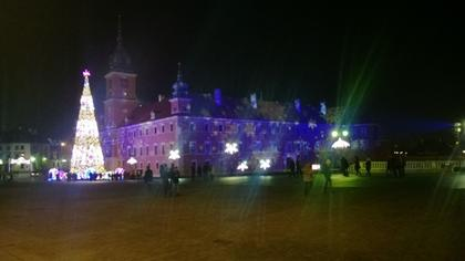 Royal Castle at Christmas