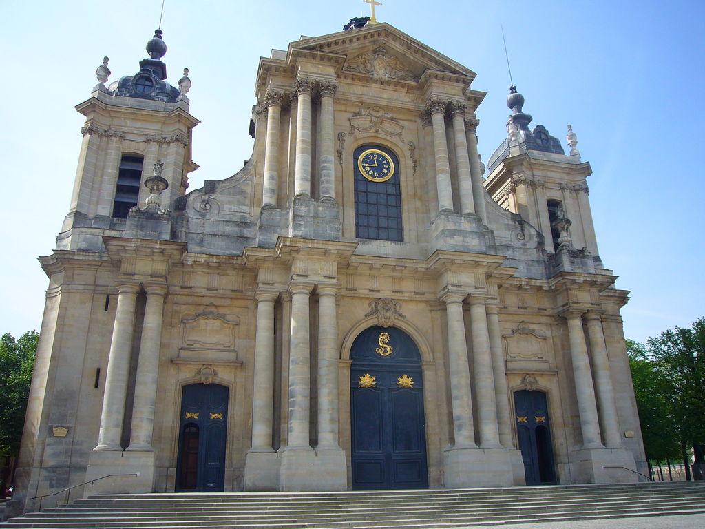 Cath drale saint louis tourisme versailles viamichelin for Tourisme versailles