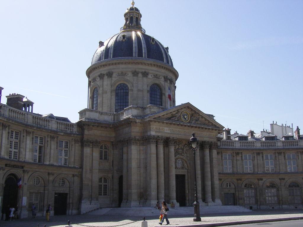 institut de france paris tourism viamichelin. Black Bedroom Furniture Sets. Home Design Ideas