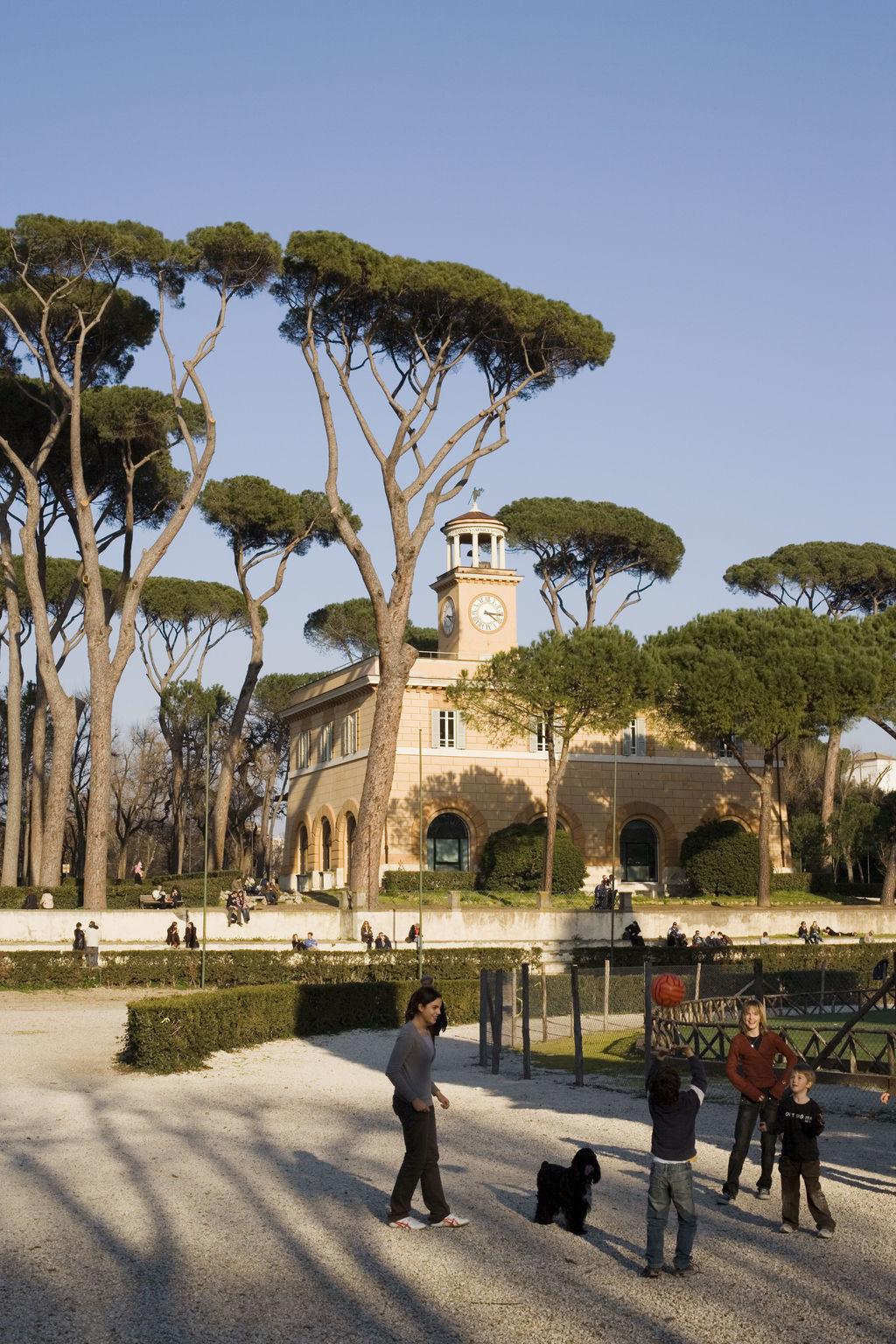 Villa Borghese Via Pinciana Roma