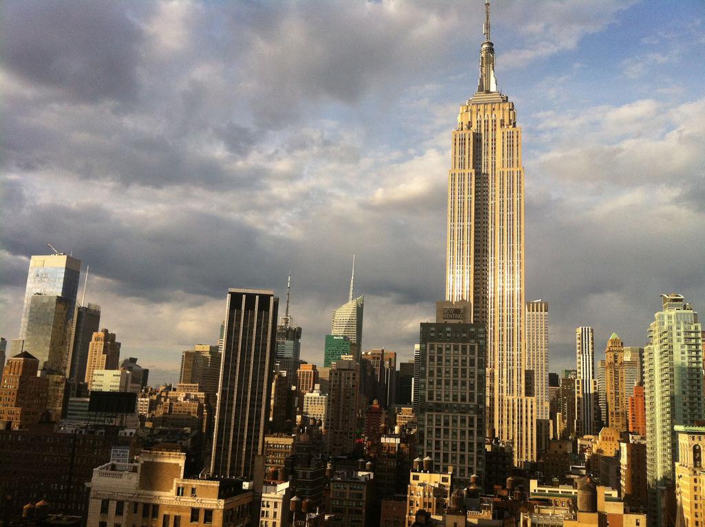empire state building tourismus new york viamichelin. Black Bedroom Furniture Sets. Home Design Ideas