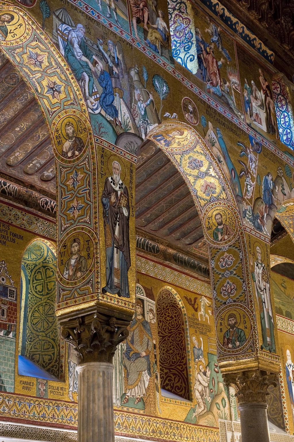 Chapelle palatine de palerme tourisme palerme viamichelin - Plafond de la chapelle sixtine description ...