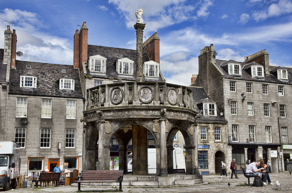 Castlegate Aberdeen Tourism Viamichelin
