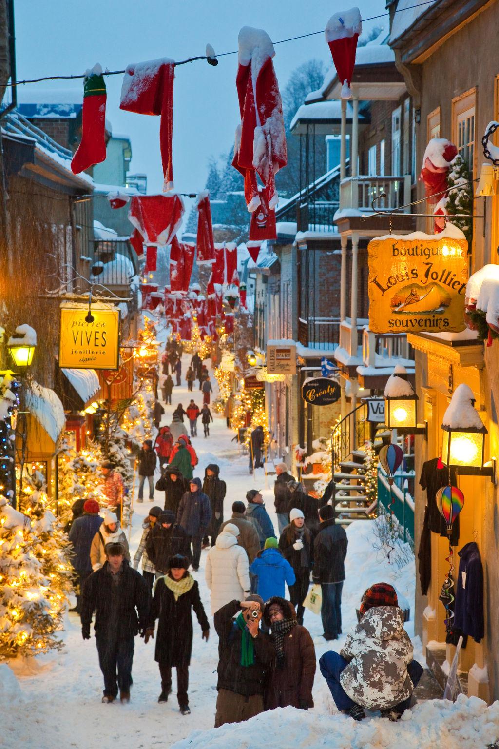 Rue du petit champlain tourismus qu bec viamichelin for Viamichelin quebec