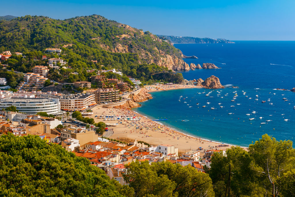 Platja gran turismo tossa de mar viamichelin for Oficina de turismo tossa de mar