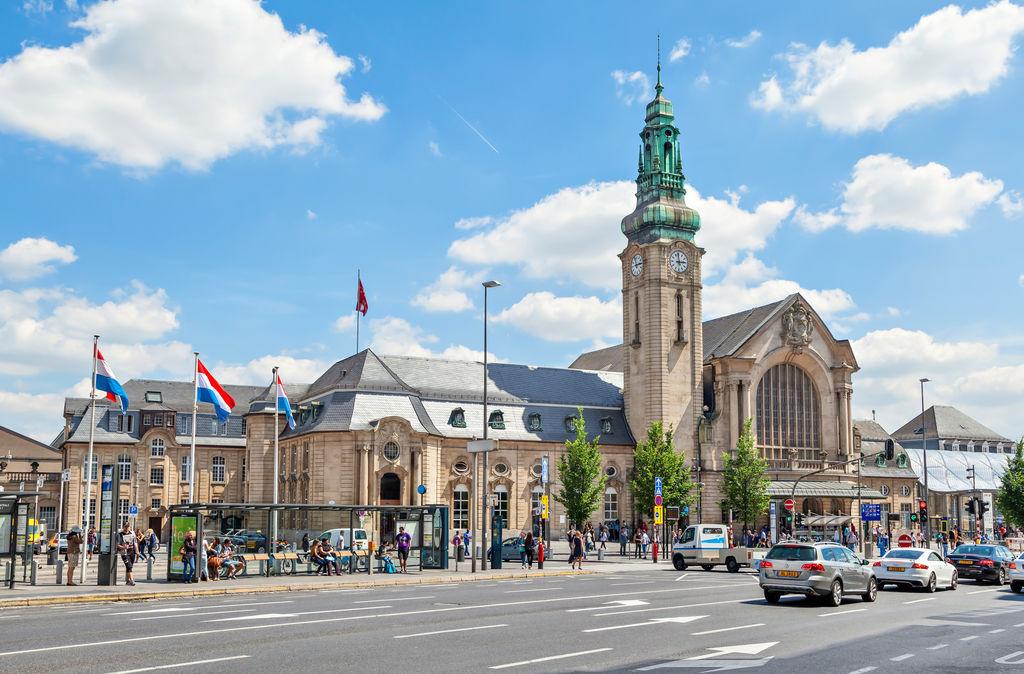 Gare centrale de luxembourg tourisme luxembourg viamichelin - Magasin avenue de la gare luxembourg ...