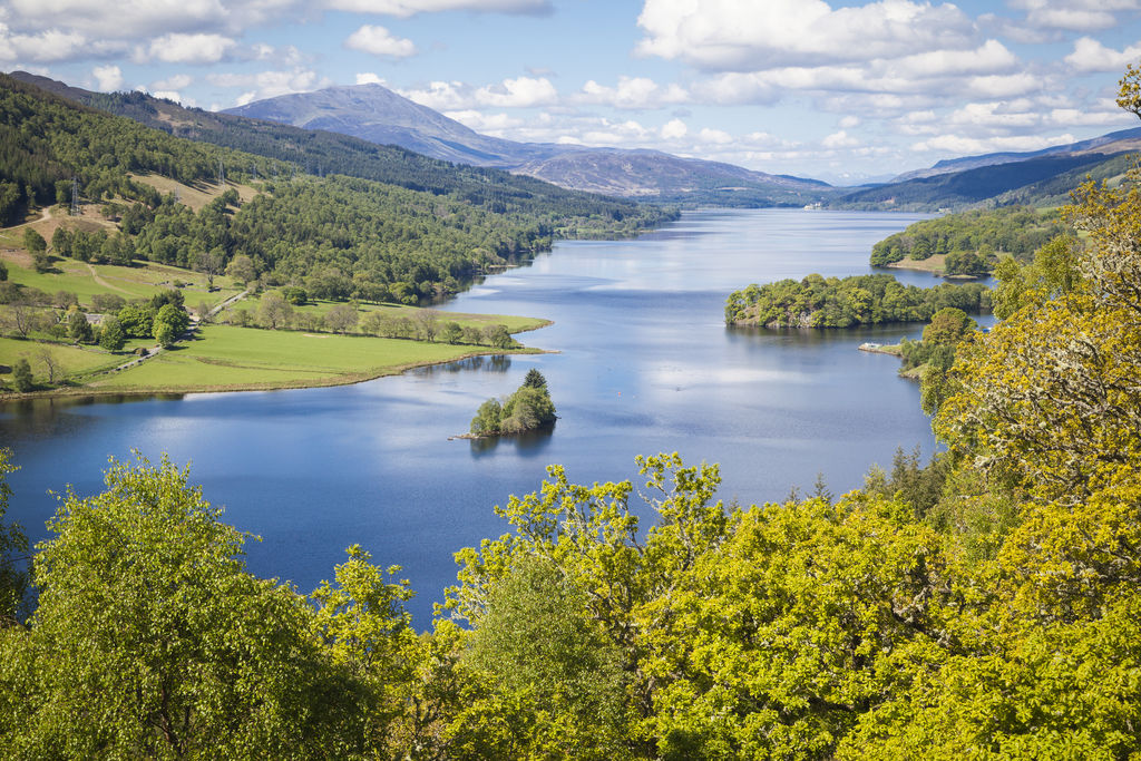 how to get to queens view pitlochry