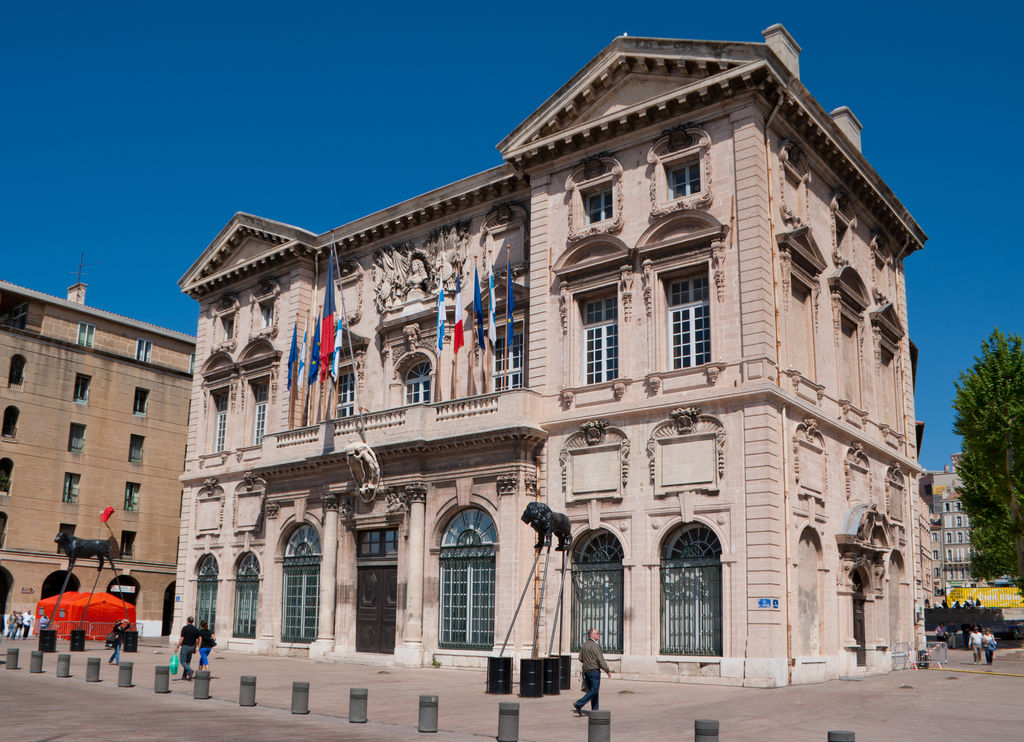 Rathaus von marseille tourismus marseille viamichelin for Viamichelin marseille