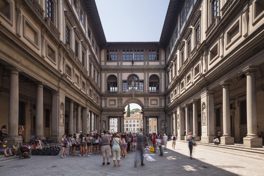 Galleria degli uffizi turismo firenze viamichelin - Galerie des offices a florence ...