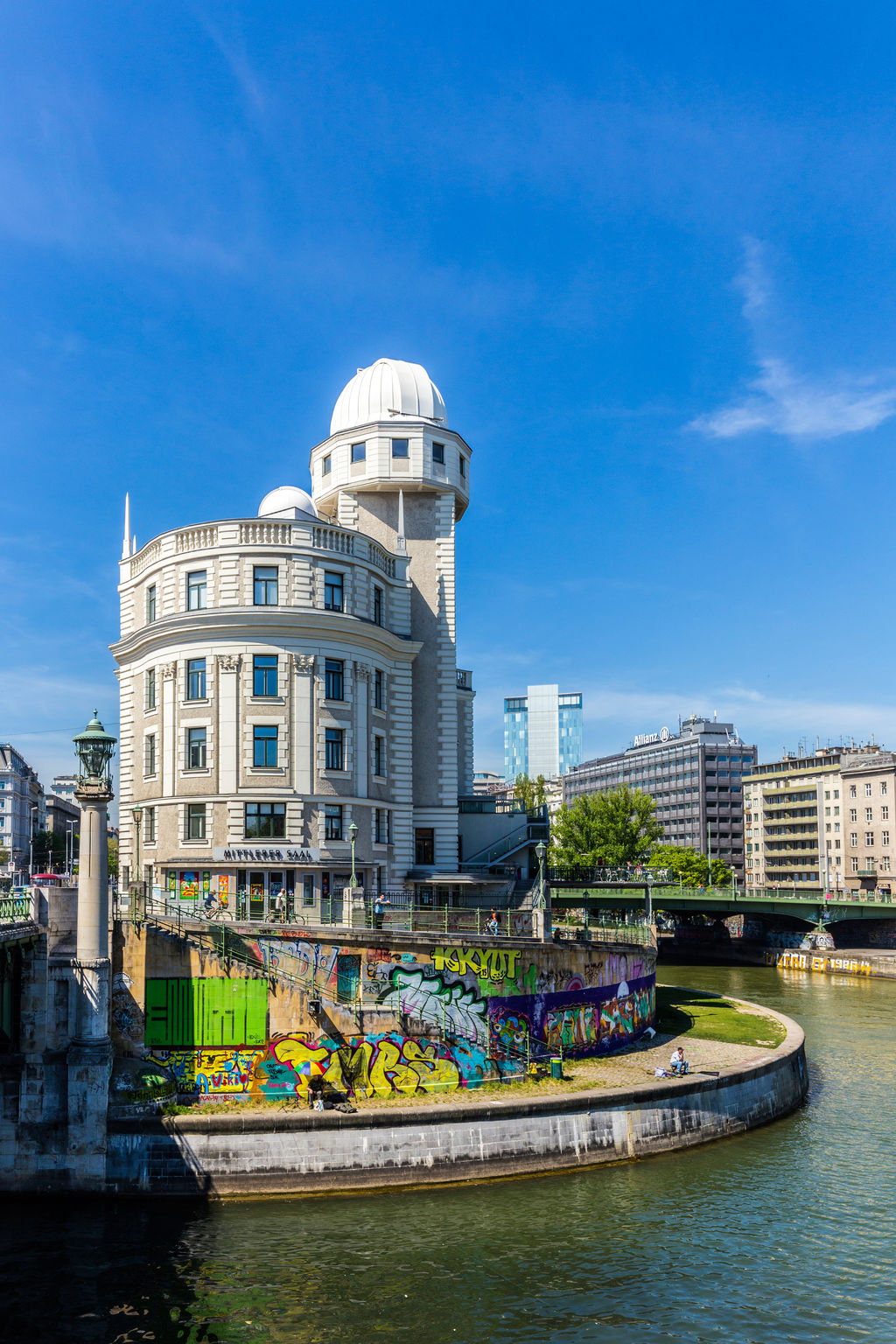 Urania Observatory Vienna Tourism Viamichelin