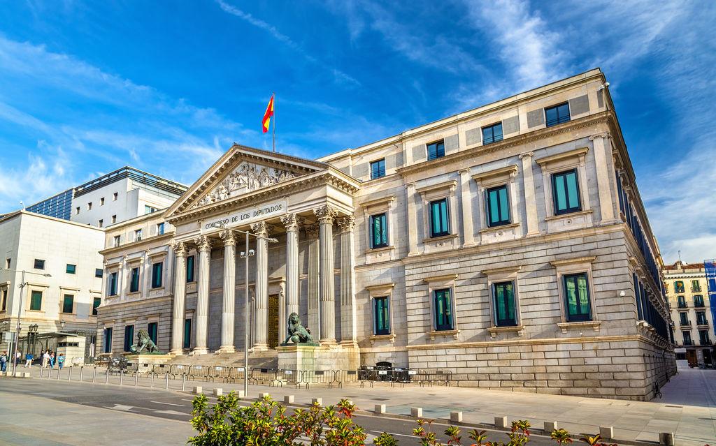 Camera dei deputati turismo madrid viamichelin for Camera dei deputati sito ufficiale