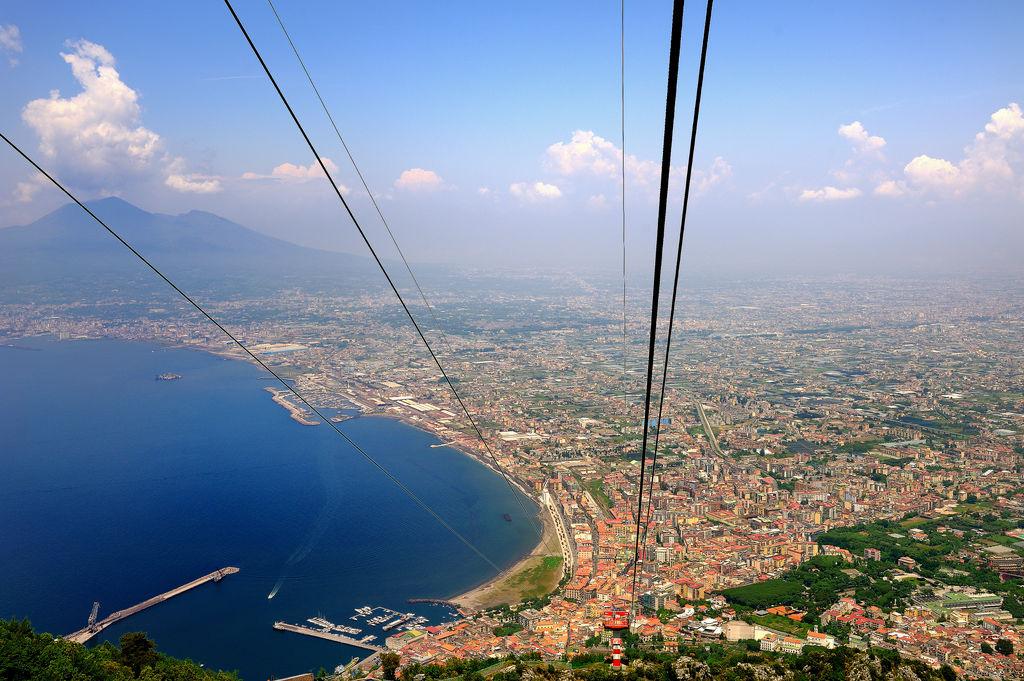 Monte faito turismo castellammare di stabia viamichelin for Separa il golfo di napoli da quello di salerno